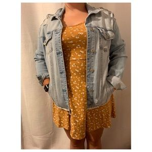 🦋BRAND NEW!! Oversized Denim Jacket🌷
